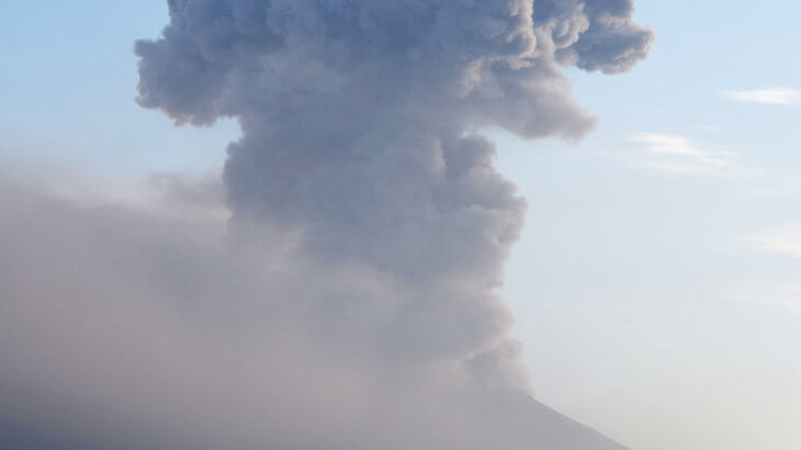 火山を観察しよう③桜島